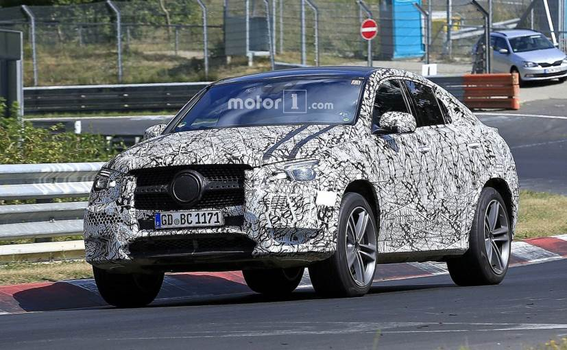 The next-gen Mercedes-Benz GLE Coupe was recently spotted doing test laps at the Nurburgring Circuit