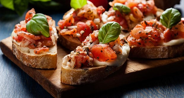 Vegetable Bruschetta