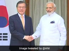 South Korean President Moon Jae-in, PM Modi Hold Talks With CEOs: Highlights