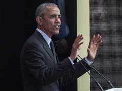 """""""I Believe In Mahatma Gandhi's Vision"""": Obama In Nelson Mandela Tribute"""