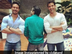 Seen <I>Rambo</I> Director's Pic Featuring Tiger Shroff And Hrithik Roshan Yet ?