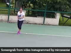Sania Mirza ने बेबी बंप के साथ खेला टेनिस, Video शेयर कर बोलीं दिल को छू लेने वाली बात