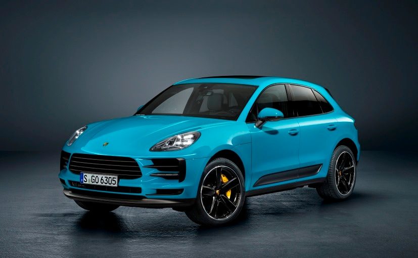 2018 porsche macan facelift unveiled ndtv carandbike. Black Bedroom Furniture Sets. Home Design Ideas