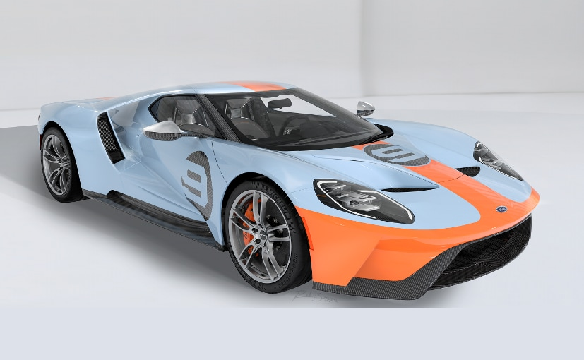Ford Will Be Making Limited Quantities Of The Gt  Heritage Edition For The