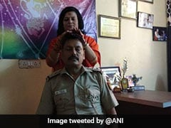 Delhi Cop Shifted After Photo Of 'Healing' Session With Godwoman Emerges