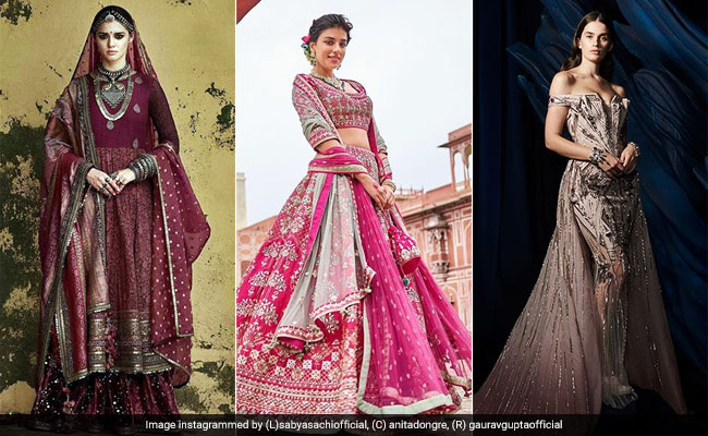 How Sabyasachi, Anita Dongre And Gaurav Gupta Are Redefining Wedding Couture