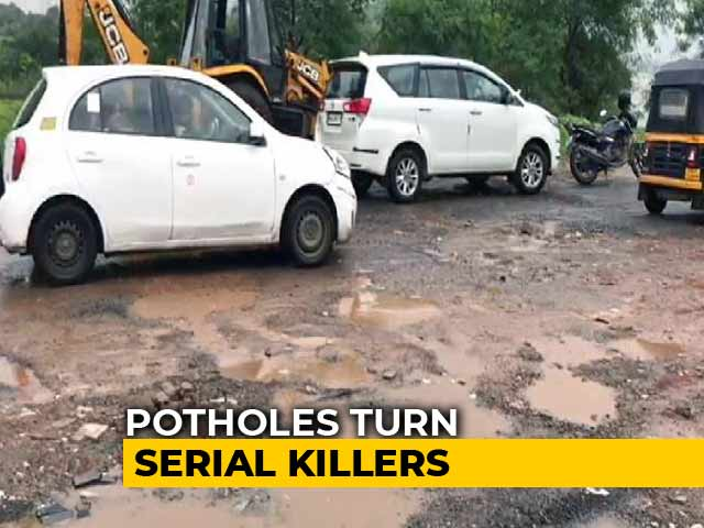 Video: 5 Pothole Deaths In Maharashtra As Sanctioned Repair Amount Still Unused