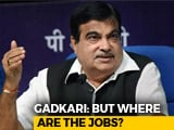 "Video : ""Where Are The Jobs?"" Nitin Gadkari Asks On Demands For Reservation"