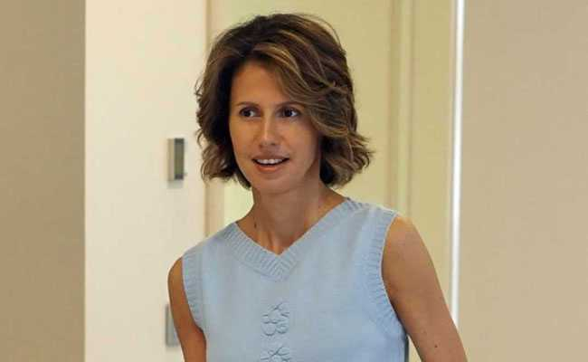 Syria's first lady diagnosed with breast cancer: presidency
