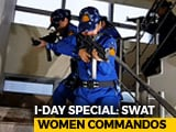 "Video : ""Male Bastion"" Falls As India's First Female SWAT Team Starts Work"