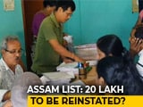 Video : 20 Lakh May Be Left Out Of Final Assam Citizens' List: Sources