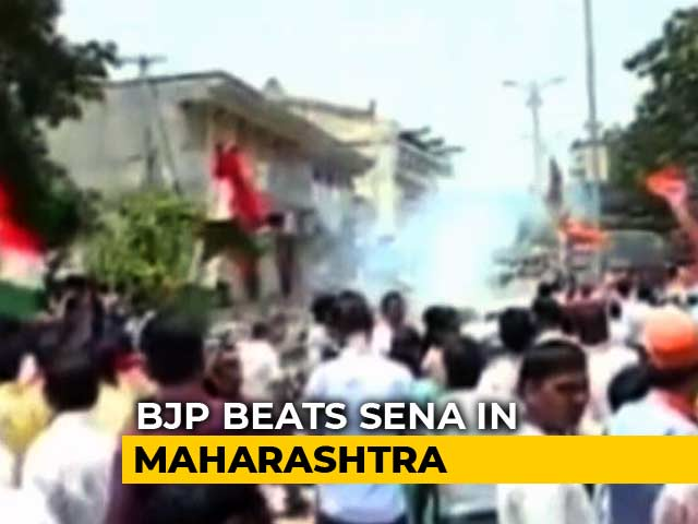 Video : In High-Stakes Maharashtra Bypolls, BJP Wins Palghar, Loses Bhandara Gondia