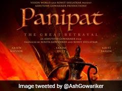 <I>Panipat</I>: Sanjay Dutt, Arjun Kapoor's Film To Go On Floors In November