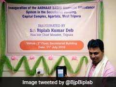 Tripura Introduces Aadhar-Based Biometric Attendance At Secretariat