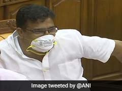 Kerala Lawmaker Wears Mask In Assembly To Protest Nipah Impact, Told Off
