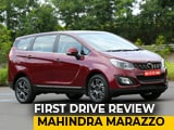 Video: Mahindra Marazzo First Drive Review