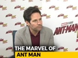 Video : Paul Rudd Feels Like A Kid In Marvel Universe