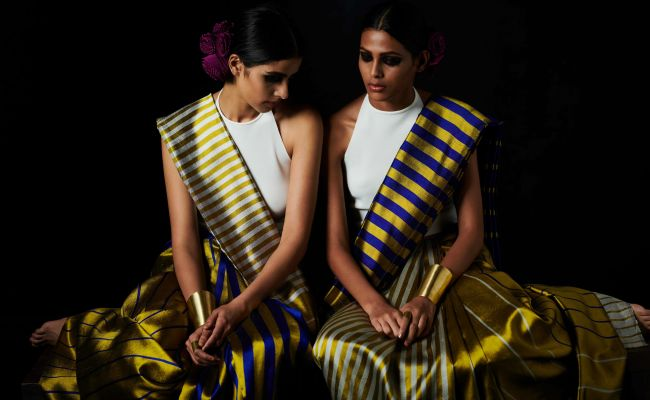 The Art Of Weaving Reversible <i>Sarees</i> - In Conversation With Designer Payal Khandwala