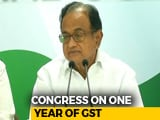 "Video : ""GST Has Become A Bad Word Among People"": P Chidambaram Slams Centre"
