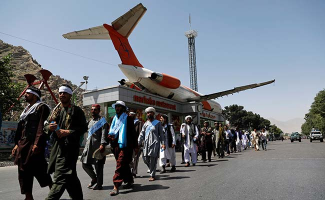 Peace Marchers Arrive In Afghan Capital Saying'Everyone's Tired Of War