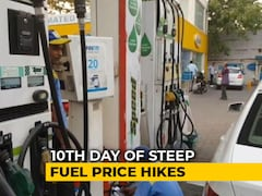 Video: On 10th Straight Hike, Petrol Prices Touch Rs. 85 In Mumbai