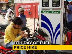 Video: 11 Days, 11 Hikes: Petrol, Diesel Costlier By Over 2.5 Rupees Per Litre