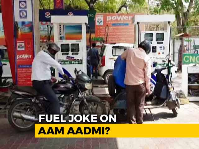 Video : Petrol Price Cut By 1 Paisa: A Fuel Joke?
