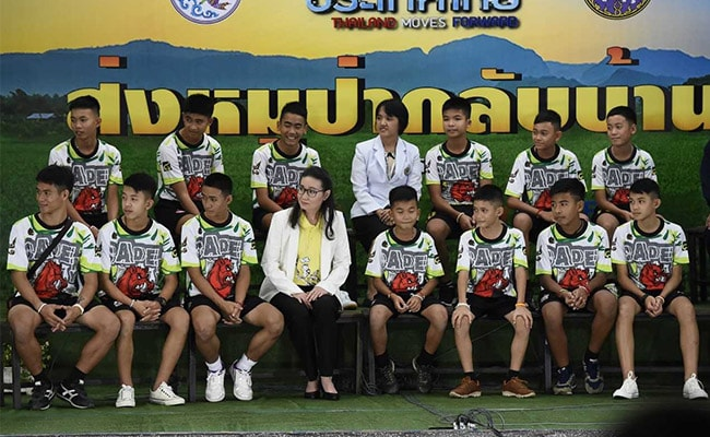 'Being Found Was Miracle': Thai Boys In First Appearance After Rescue