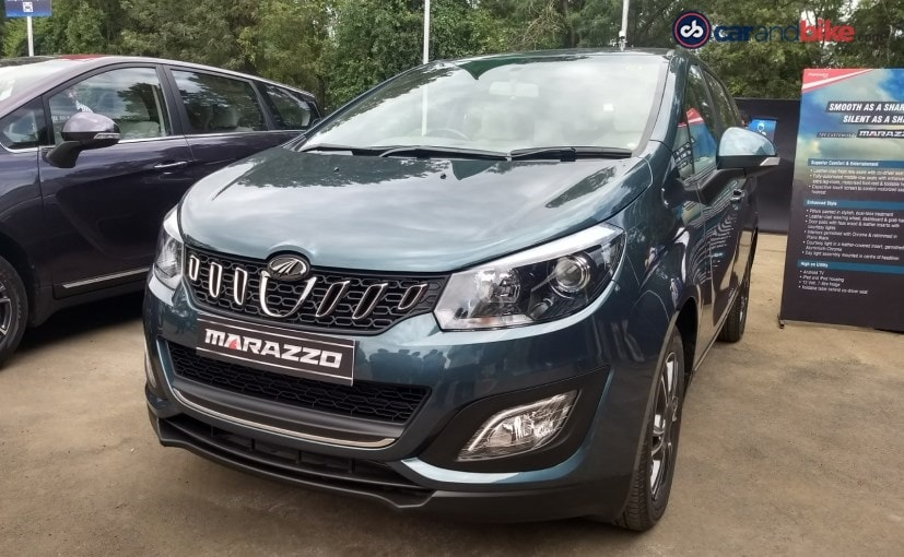 This customised cabin by DC Design for the Mahindra Marazzo will be offered at the dealership level