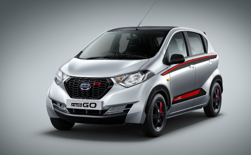 The Limited Edition Redigo will not be offered with an AMT; only with manual gearbox