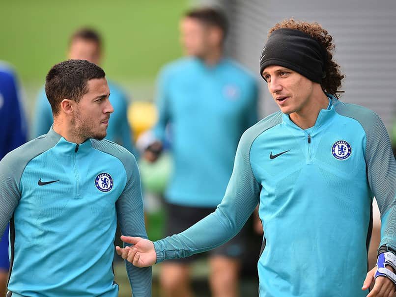 English Premier League: David Luiz Urges Thibaut Courtois And Eden Hazard To Stay At Chelsea
