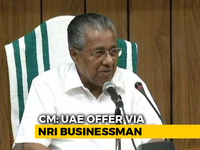 Video: News Of 700 Crore Aid From UAE Came From Both Countries: Pinarayi Vijayan