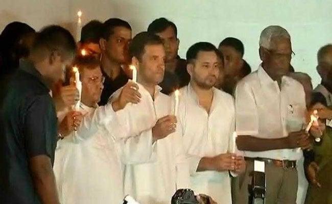 जंतर-मंतर पर दिखी विपक्ष की एकता, राहुल बोले - अगर नीतीश जी को सच में शर्म आ रही है तो जल्द से जल्द एक्शन लें