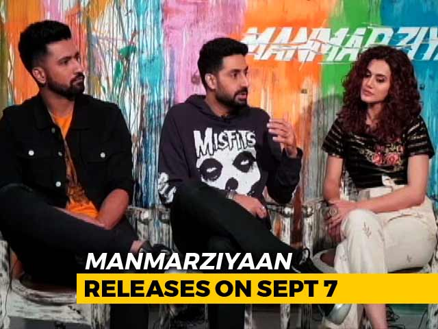 Video : Millennials Will Connect With <i>Manmarziyaan</i>: Abhishek Bachchan