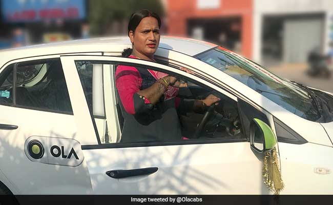 Meet Ola's Meghna Sahoo, 'India's First' Transgender Cab Driver In Odisha
