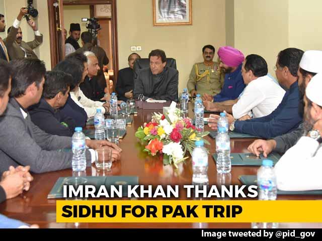 Video : Imran Khan Thanks Navjot Sidhu, Has Message For His Critics In India