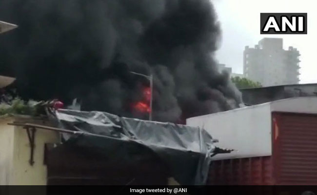 Fire In Industrial Area In Mumbai, No Casualties