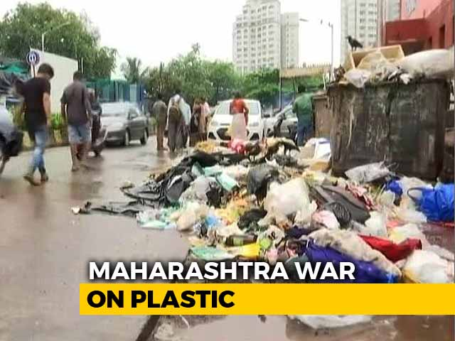"Video : Mumbai Residents ""Happy"" As Maharashtra Plastic Ban Comes Into Effect"