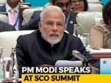 Video : PM Modi, At Asian Summit SCO, Bats For 'SECURE'