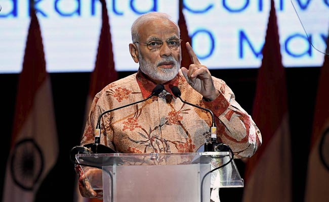 PM Modi Announces 30-Day Free Visa For Indonesian Citizens