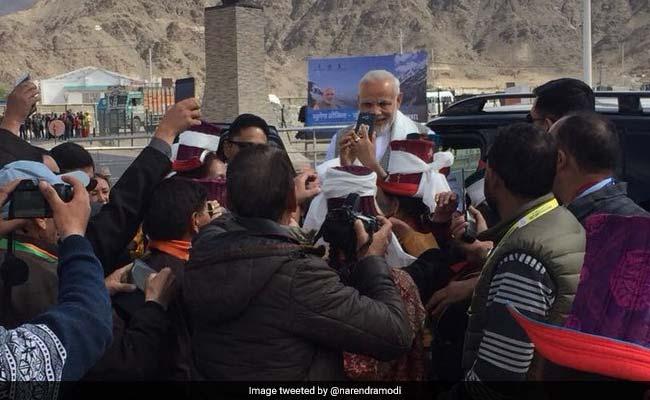 Prime Minister Narendra Modi In Jammu And Kashmir On Day-Long Visit