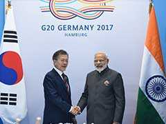"""South Korea Seeks India's """"Full Support"""" For Lasting Peace In Peninsula"""