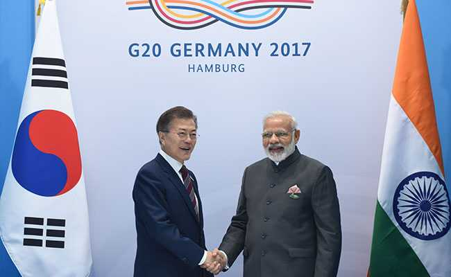 South Korea Seeks India's 'Full Support' For Lasting Peace In Peninsula