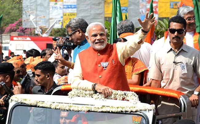 PM Modi's Varanasi Roadshow Sparks War Of Words Between BJP, Opposition