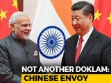 "Video : Chinese Envoy Pitches India-Pak-China Meet ""Suggested By Indian Friends"""