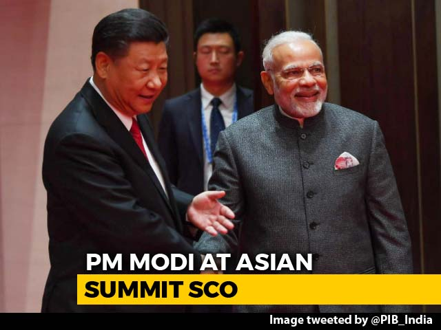 Video : At Asian Summit SCO, India Refuses To Back China's Belt And Road Project