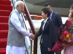 PM Modi Arrives In China To Attend Shanghai Cooperation Summit