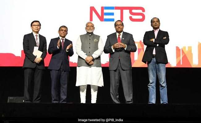 PM Modi Launches Indian Digital Payment Apps In Singapore