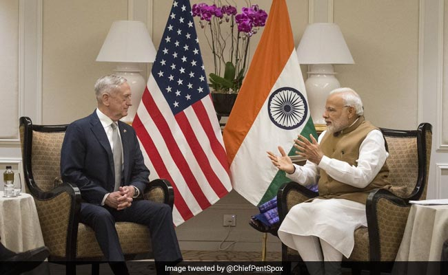 PM Modi, US Defense Secretary Meet, Pledge To Continue 'Strong Bilateral Strategic Partnership'