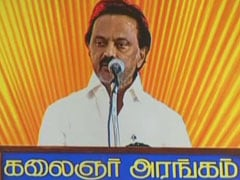 Don't Touch MK Stalin's Feet: DMK Advisory For Workers